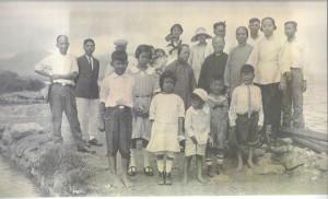 Chang and Chock Family at Ala Moana Salt Ponds